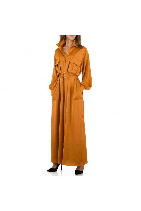 Damen Overall von JCL - orange