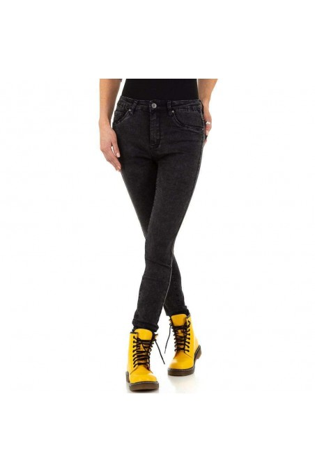 Damen Jeans von Nina Carter - black