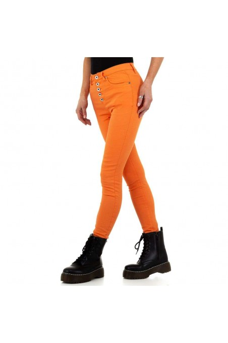 Damen Jeans von Nina Carter - orange