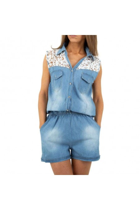 Damen Overall von M.Sara Denim - blue