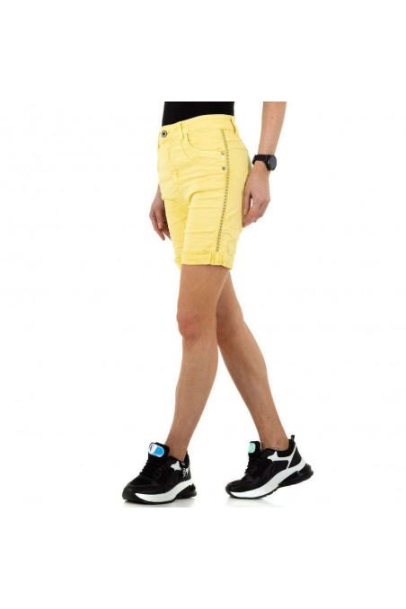 Damen Shorts von Jewelly Jeans - yellow