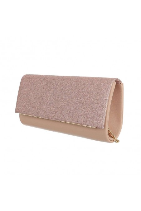 Damen Clutch - champagne