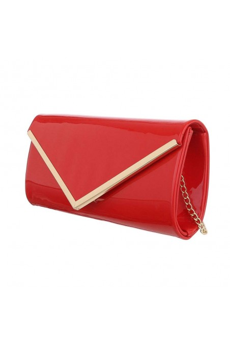Damen Clutch - red