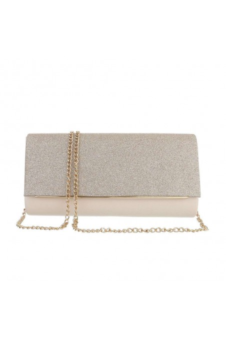 Damen Clutch - gold
