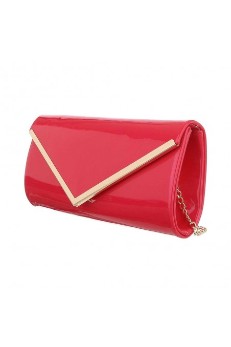 Damen Clutch - fuxia