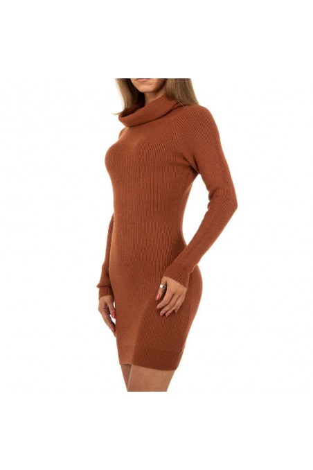 Damen Kleid von Whoo Fashion Gr. One Size - D.orange