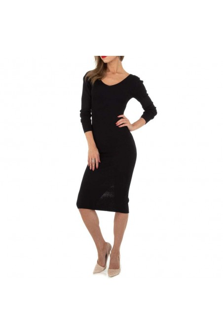 Damen Kleid von Whoo Fashion Gr. One Size - black