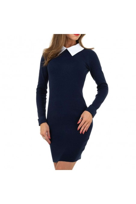 Damen Kleid von Whoo Fashion Gr. One Size - DK.blue
