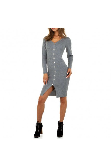 Damen Kleid von Drole de Copine Gr. One Size - grey