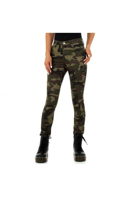 Damen Jeans von Colorful Denim - armygreen