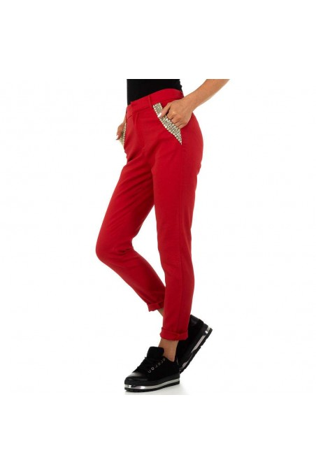Damen Hose von Drole de Copine - red