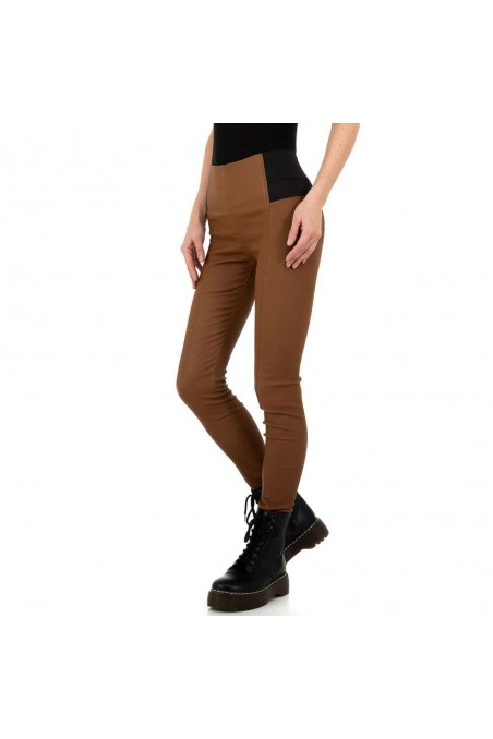 Damen Hose von Laulia - brown