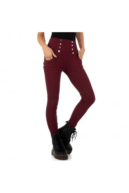 Damen Hose von Holala Fashion - wine