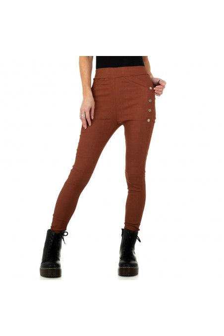 Damen Hose von Holala Fashion - DK.orange