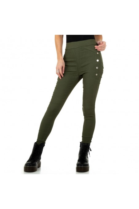 Damen Hose von Holala Fashion - khaki
