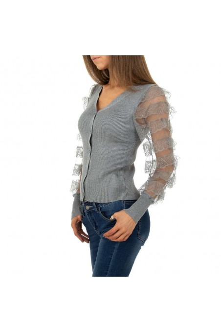 Damen Pullover von Shako White Icy - grey