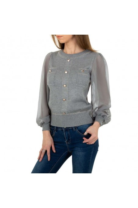 Damen Pullover von White Icy - grey