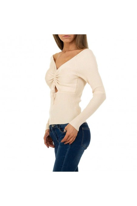 Damen Pullover von Shako White Icy Gr. One Size - cream