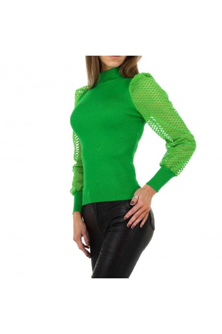 Damen Pullover von Drole de Copine Gr. One Size - green