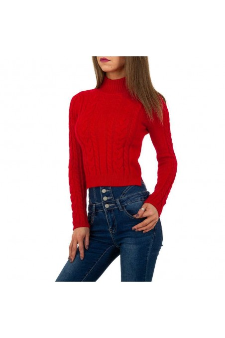 Damen Pullover von Shako White Icy Gr. One Size - red