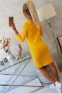 Medaus spalvos suknelė
