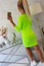 Salotinės spalvos suknelė
