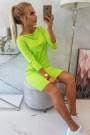 Kivi spalvos suknelė