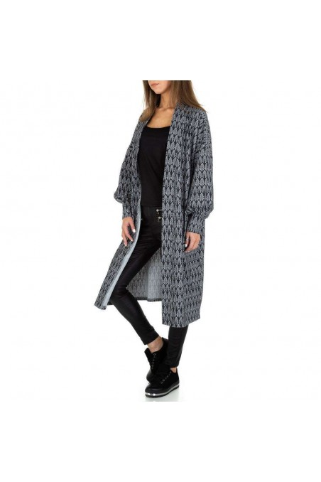 Damen Kurzmantel von JCL Gr. One Size - grey