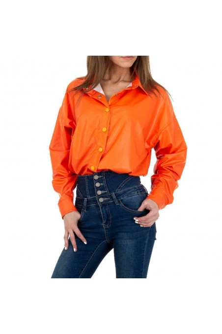 Damen Hemdbluse von See See Denim - orange