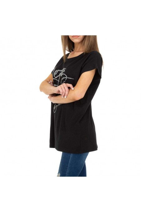 Damen T-Shirt von Glo Story - black