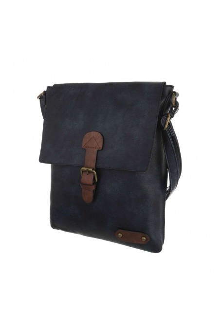 Damen Schultertasche - blue