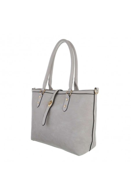Damen Schultertasche - grey