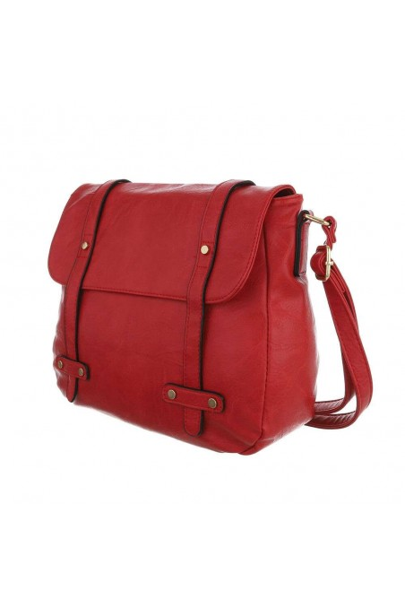 Damen Schultertasche - red