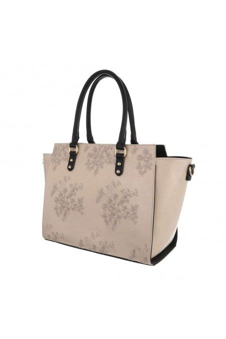 Damen Schultertasche - gold