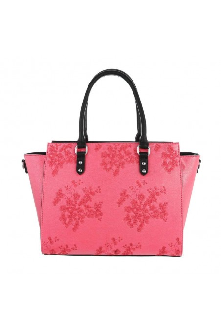 Damen Schultertasche - rose