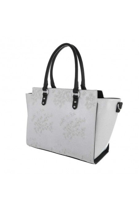 Damen Schultertasche - white