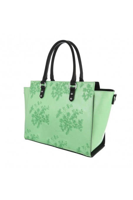 Damen Schultertasche - green