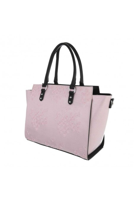 Damen Schultertasche - pink