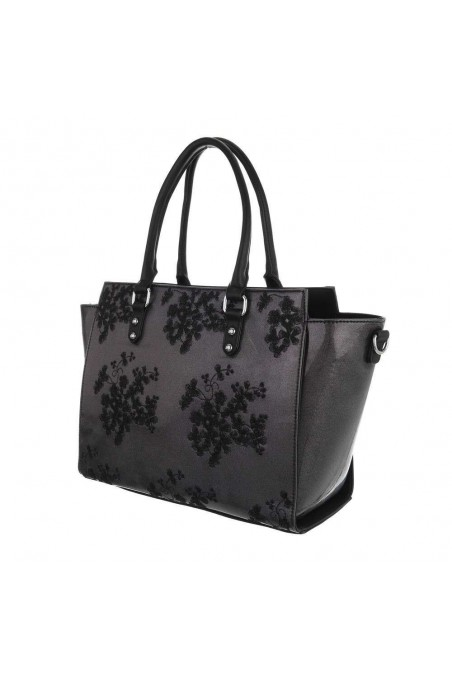 Damen Schultertasche - black