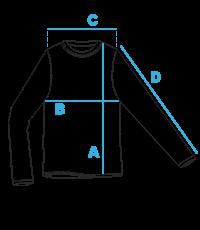 Vyriškų džemperių išmatavimai