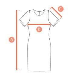 Suknelės išmatavimai